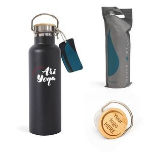 25 Oz. Elemental� Matte Insulated Water Bottle - Vacuum Double Walled Stainless Steel - Leak Free